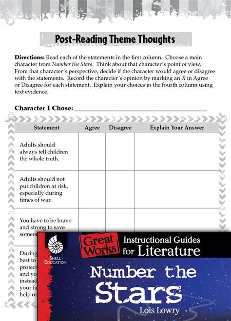 number  stars post reading activities teachers