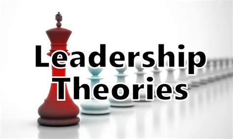 leadership theories charismatic trait behavioural