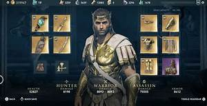 Assassin's Creed Odyssey Gear is Getting an Update