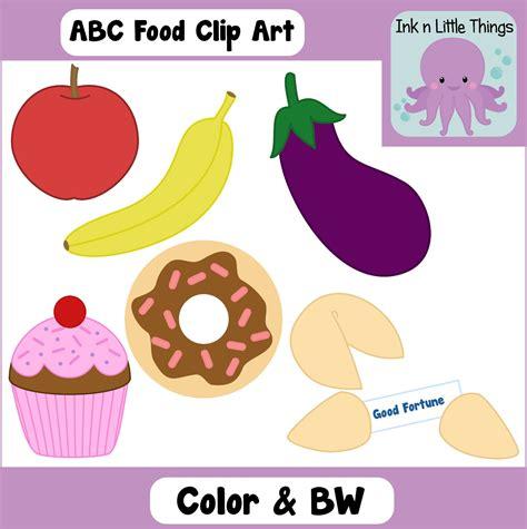 cuisine abc ink n things alphabet clip abc food 25