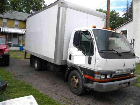 mitsubishi truck mitsubishi fuso 2003 van box trucks