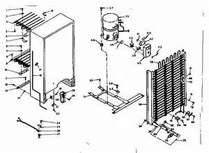 Kenmore Freezer Parts Diagram