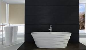 Freistehende Badewanne Mineralguss : freistehende badewanne aus mineralguss athene stone wei ~ Michelbontemps.com Haus und Dekorationen