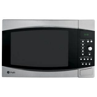 countertop microwave convection oven ge profile countertop microwaves 1 5 cu ft peb1590smss