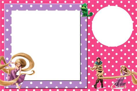 tangled rapunzel free printable party invitations oh my in english