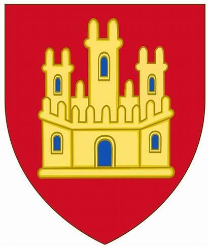 Castille Svg Arms Royal Century Castilla Castiglia