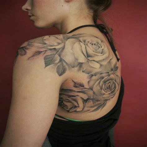Rose Tatouage Epaule  Galerie Tatouage