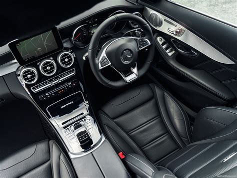 Every detail in the interior of the c 63 contributes to a stunning overall effect. Mercedes-Benz C63 AMG (2015) - picture 54 of 107