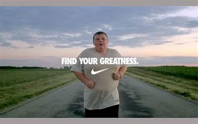Nike Greatness Ad Ads Jogger Rhetorical Glittering