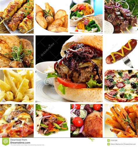 fast cuisine fast food collection stock photo image 31001280