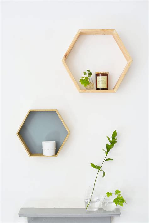 diy honeycomb shelves burkatron