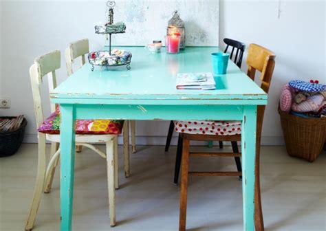 relooker sa cuisine avant apres 5 idées pour repeindre une table joli place