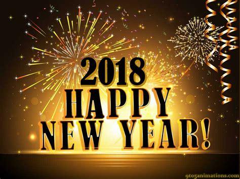 Happy New Year 2018 Desktop Wallpaper