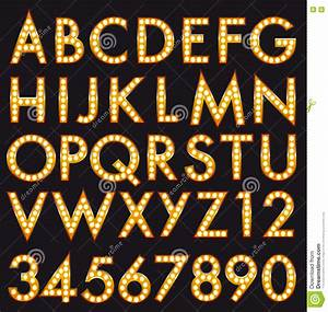 marquee alphabet font letters in broadway billboard sign With billboard letters and numbers