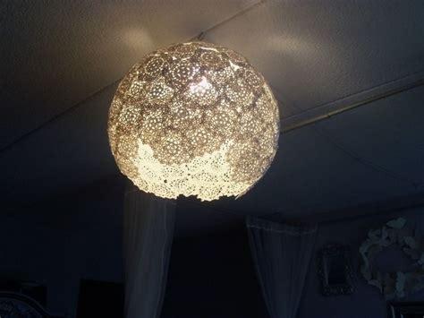 verspielt verziert lampenschirm aus spitze