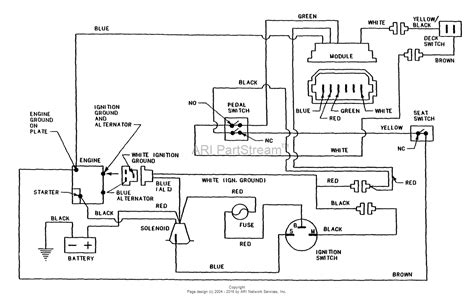 Wiring Diagram Kohler Engine by Snapper E331315bve 33 Quot 13 Hp Rear Engine Rider