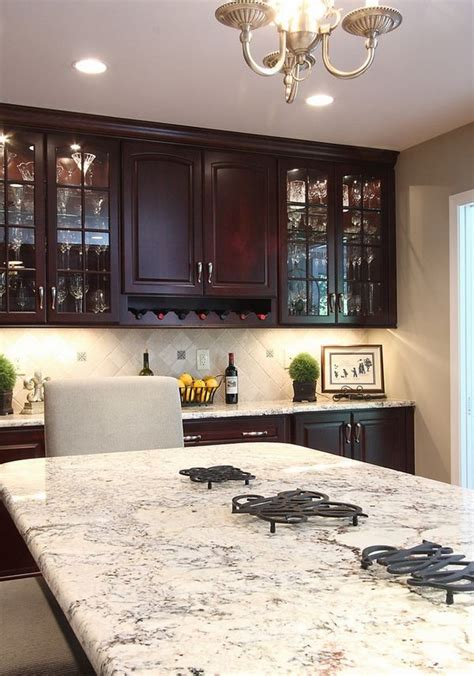 wood for kitchen cabinets what is the best bianco romano granite countertops kitchen cabinets 2263