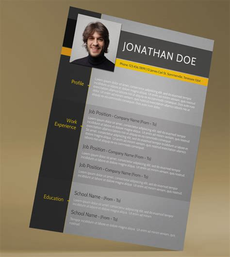 Cv Template Free Filetype improve your chances of getting noticed employers with