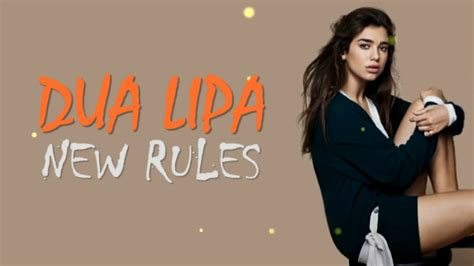 Dua Lila New Rules (official Music Lyrics)