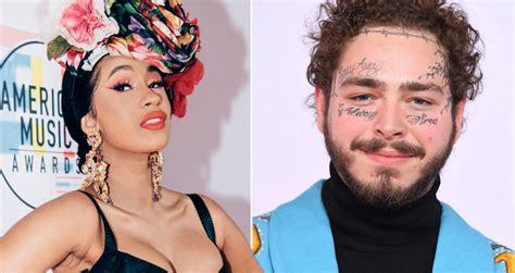 Why Cardi B and Post Malone won't compete for best new ...