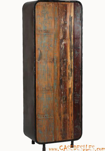 canape ecologique armoire industrielle acier bois récupération 1860