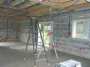 Niveau Laser Plaquiste : leplafond laconstructiondenotremaison ~ Premium-room.com Idées de Décoration