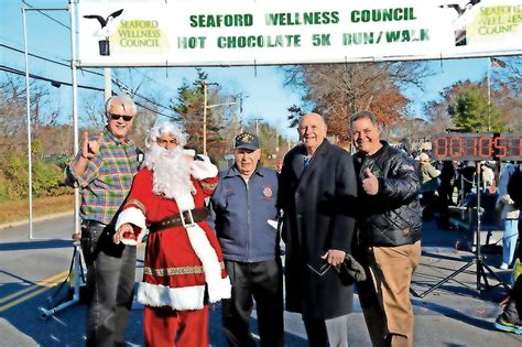 Seaford To Hold Hot Chocolate 5k
