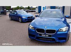 BMW Blues Compared Estoril Blue II F30 vs Monte Carlo
