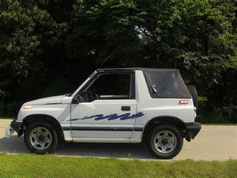 1994 chevy tracker 1994 chevy geo tracker 122500 miles for sale in medinah