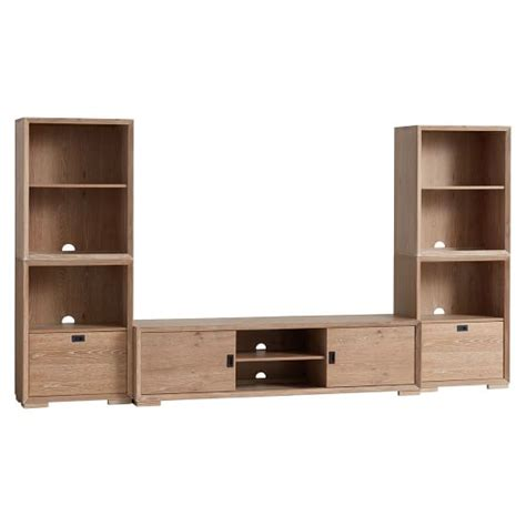 media furniture tv stands media consoles pottery barn