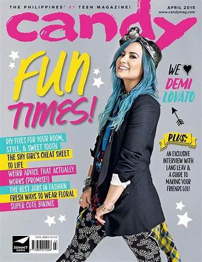Candy Magazine Demi Lovato April Philippines Issue