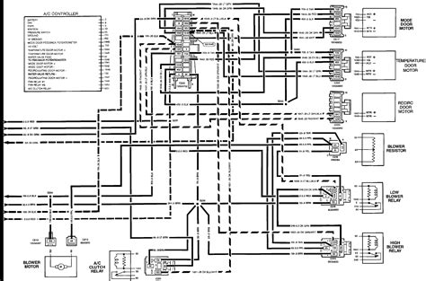 1995 Chevrolet K1500 Wiring Diagram by 1992 K1500 Air Conditioning Fan Is Not Working Where Is