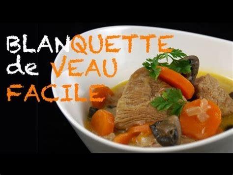 recette de cuisine marmiton recette blanquette de veau traditionnelle et facile