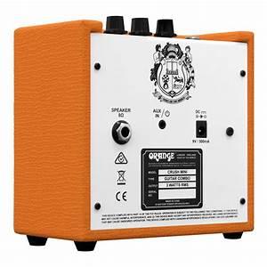 Ampli Wifi Orange : crush mini combo para guitarra world music ~ Melissatoandfro.com Idées de Décoration