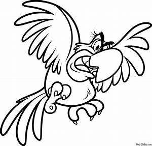 Iago From Aladdin Coloring Pages Of Coloring Pages