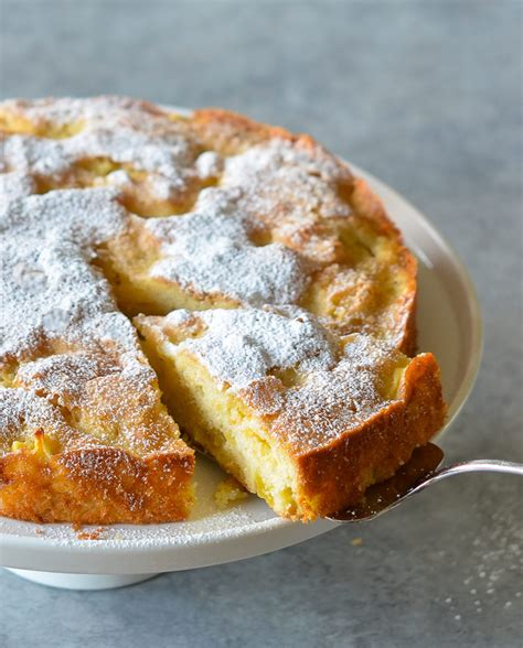 french apple cake    chef