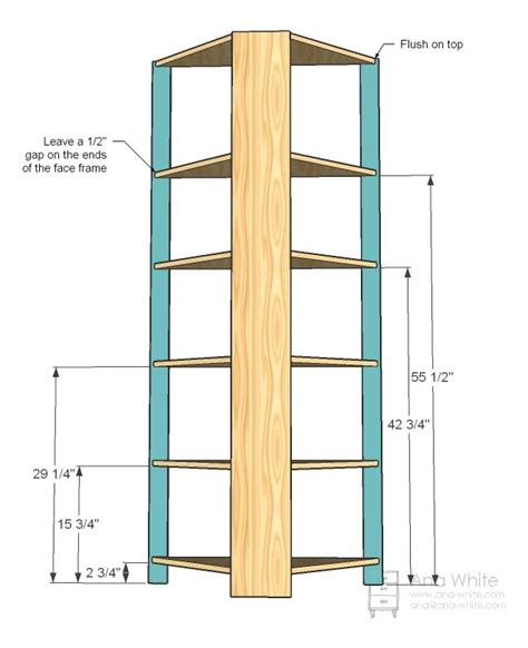 how to build a corner cabinet for a tv ana white build a corner cupboard free and easy diy