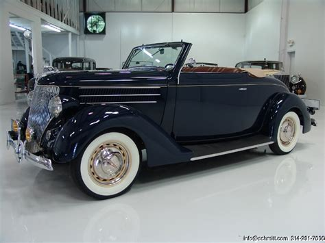 1936 Ford Rumble Seat Convertible