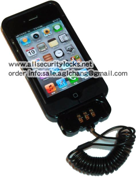 iphone lock iphone 4 anti theft lock stand lock