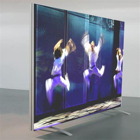 cadre aluminium grand format pour mur d image