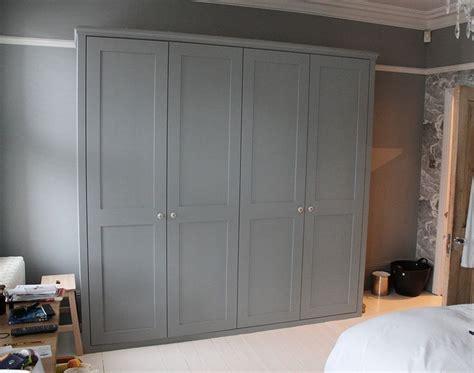 Grey Wood Wardrobe by 20 Ideas Of Wood Wardrobe Doors
