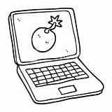 Computer Drawing Laptop Picnic Blanket Cartoon Screen Joker Leto Jared Clipartmag Drawn Getdrawings Freehand sketch template