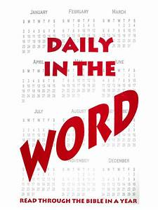 Daily in the Word – XL Ministries, Inc