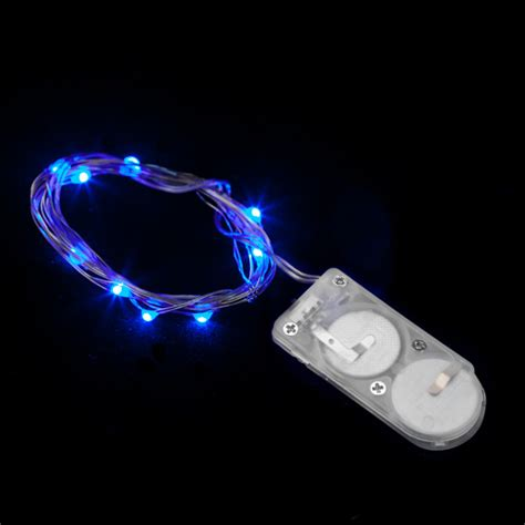 10 micro led blue submersible string light