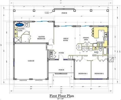 floor plans and site plans design