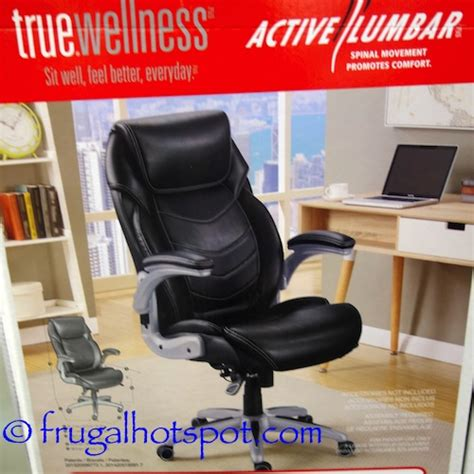 costco sale true innovations active lumbar chair 135 99