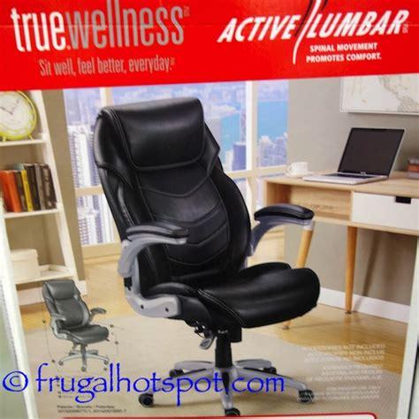 fauteuil bureau amazon costco sale true innovations active lumbar chair 135 99