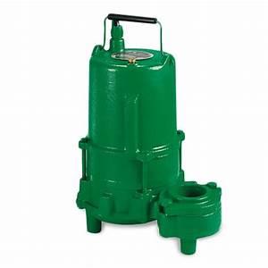 Myers 1 Hp 230v Submersible Effluent Sewage Pump