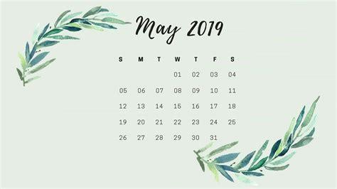 May Hd 2019 Calendar Wallpaper.