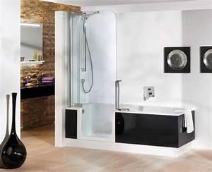 twinline 2 baignoire en acrylique renforce au With porte douche acrylique